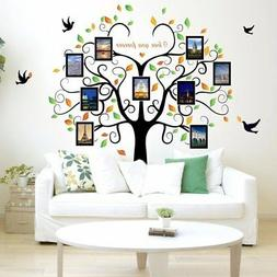 DIY Home Family Decor Tree Bird Removable Decal Room Wall St