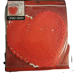 Jolee's Boutique Doilies - Heart/Valentines - pack12 - 10""