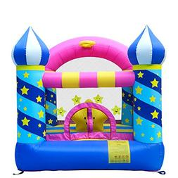 Dr.Dolphin Inflatable Bouncer Star Castle Jumping Bounce Hou