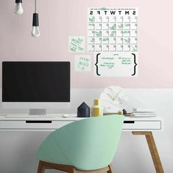 RoomMates Dry Erase Calendar Peel And Stick Giant Wall Decal