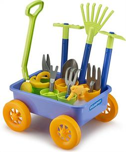 Educational Assorted Garden Wagon and Tools Play Set 15 Pc -