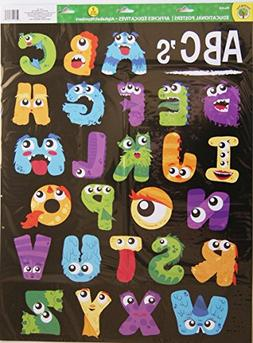 Teaching Tree Large Educational Wall Posters - Monster Numbe