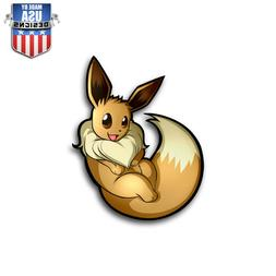Eevee Pokemon Sticker Decal Phone Laptop Car Window Art Viny