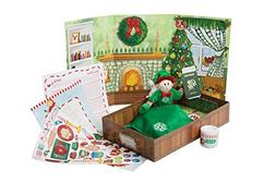 Elf Magic Boy with Red Hair Holiday Doll and Full Playset -