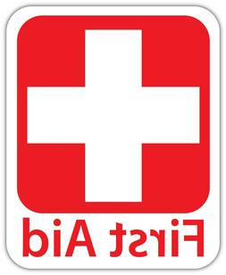 Emergency First AID KIT Vinyl Sticker Decal Sign SIZES  Heal