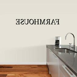 Farmhouse Wall Decal - Kitchen, Dining Room, Family and Livi