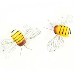 Touch of Nature 2-Piece Foam Bumble Bee for Arts and Crafts,