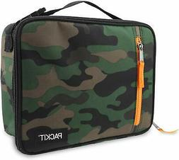 PackIt Freezable Classic Lunch Box, Camo