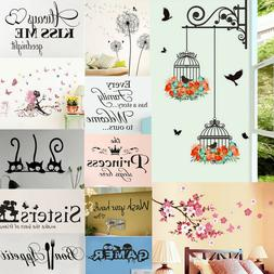 Vinyl Home Room Decor Art Quote Wall Decal Sticker Bedroom R