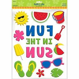 "Amscan ""Fun in The Sun Party Gel Cling"