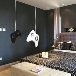 MairGwall Game Controllers Wall Decal - Gamer Wall Decal Vin