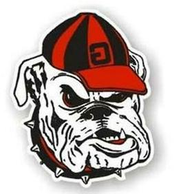 Georgia Bulldogs UGA Mascot 12 Inch Car Magnet  Decal Emblem