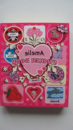 GIRLS PERSONALISED STICKER BOOK AMELIE by Mulberry