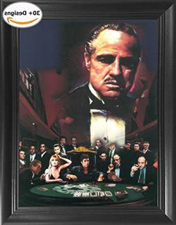 THE GODFATHER Mob Bosses Sopranos Scarface Goodfellas Al Pac