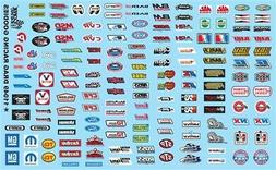 GOFER RACING DRAG RACING GOODIES DECALS FOR 1:24 AND 1:25 SC