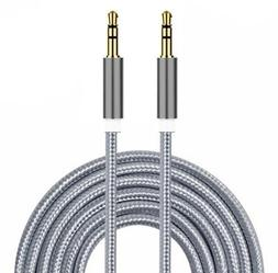 I-Sonite  Gold Plated Nylon Material Braided 3.5Mm Jack To J