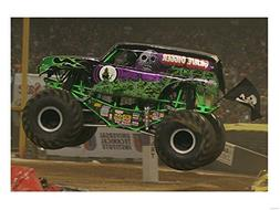 Grave Digger Monster Truck Art Print, 16 x 12 inches