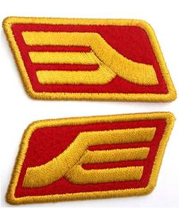 Gundam Zeon Rank Insignia Patch Color Red