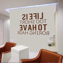 MairGwall Hair Cut Quote-Life Is Too Short To Have Boring Ha