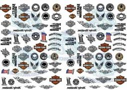 Harley Davidson Decals | Model Car Decals in all scales from