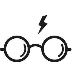 Harry Potter Glasses Vinyl Decal Sticker Car Truck