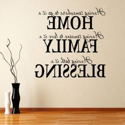 Having Somewhee to Go Is a Home Family Blessing Wall Decal Q