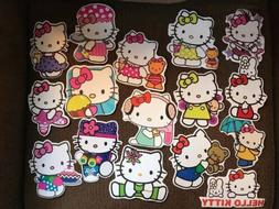 Hello Kitty Assorted - 20 Stickers - Party Favors - Car Deca