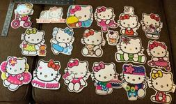 Hello Kitty Large Stickers Lot 18 Thin Vinyl Wall, Planner,
