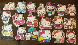 Hello Kitty Large Stickers Thin Vinyl Lot 20 Wall, Car Decal