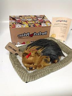 Perfect Petzzz Huggable Breathing Puppy Dog Pet Yorkie