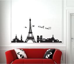 I Love Paris Removable Wall Decals