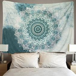 Icejazz Indian Mandala Tapestry Wall Hanging Flower Psychede