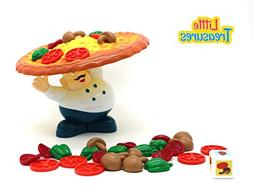 Little Treasures Incline Pizza Balancing Pile Up Game for Ag