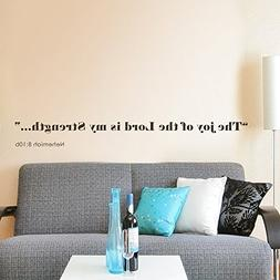 MairGwall Inspirational Quote The Joy of the Lord is my Stre