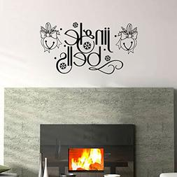 Jingle Bells Vinyl Wall Words Decal Sticker Graphic
