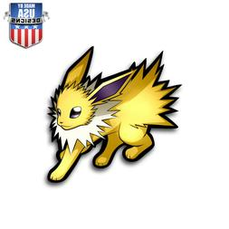 Jolteon Pokemon Sticker Decal Phone Laptop Car Window Art Vi