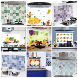 Kitchen Oilproof Removable Cute Wall Stickers Mural Art Deco