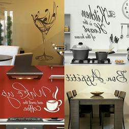KITCHEN WALL QUOTES! Easy Removable Home Wall Transfer, Inte