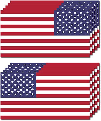 10 pack of new usa american flag