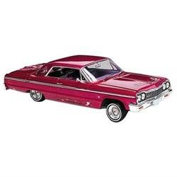 1964 Chevy Impala Low Rider Plastic Glue And Paint Model Car
