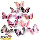 12 Pk 3D Butterfly Wall Sticker Decal Family Home Room Kitch