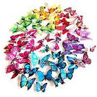 72 x PCS 3D Colorful Butterfly Wall Stickers Decal Vinyl 6 C