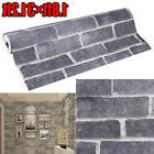 3D Wallpaper Bedroom Living Mural Roll Modern Stone Brick Wa