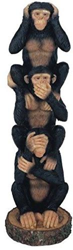 George S. Chen Imports Monkeys See Hear Speak No Evil Collec