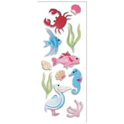 A Touch Of Jolee's A Day At The Beach Dimensional Stickers-S