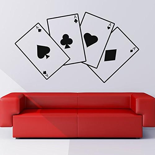 aces playing cards suits card