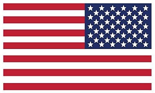 American Flag Vinyl Decals - Indoor Home, Car or Truck Use f