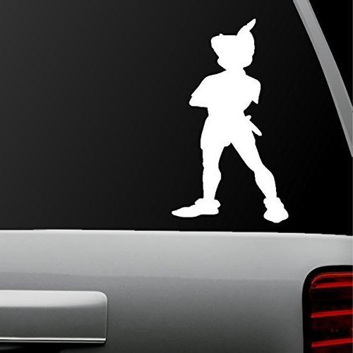 auto sticker auto decal peter pan standing