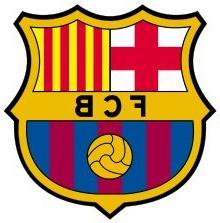 barcelona f c sticker decal