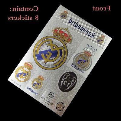 for Real soccer fans Sticker car wall 1110